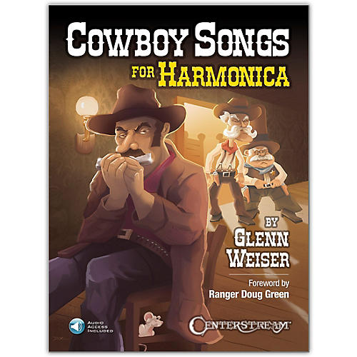 Centerstream Publishing Cowboy Songs for Harmonica Book/Audio Online thumbnail