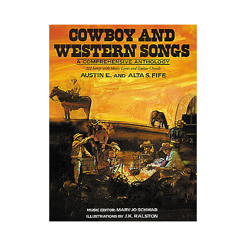 Creative Concepts Cowboy and Western Songs Guitar Tab Songbook-thumbnail