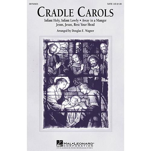 Hal Leonard Cradle Carols SATB arranged by Douglas E. Wagner thumbnail