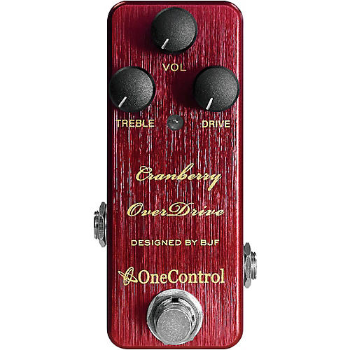 One Control Cranberry Overdrive Effects Pedal thumbnail