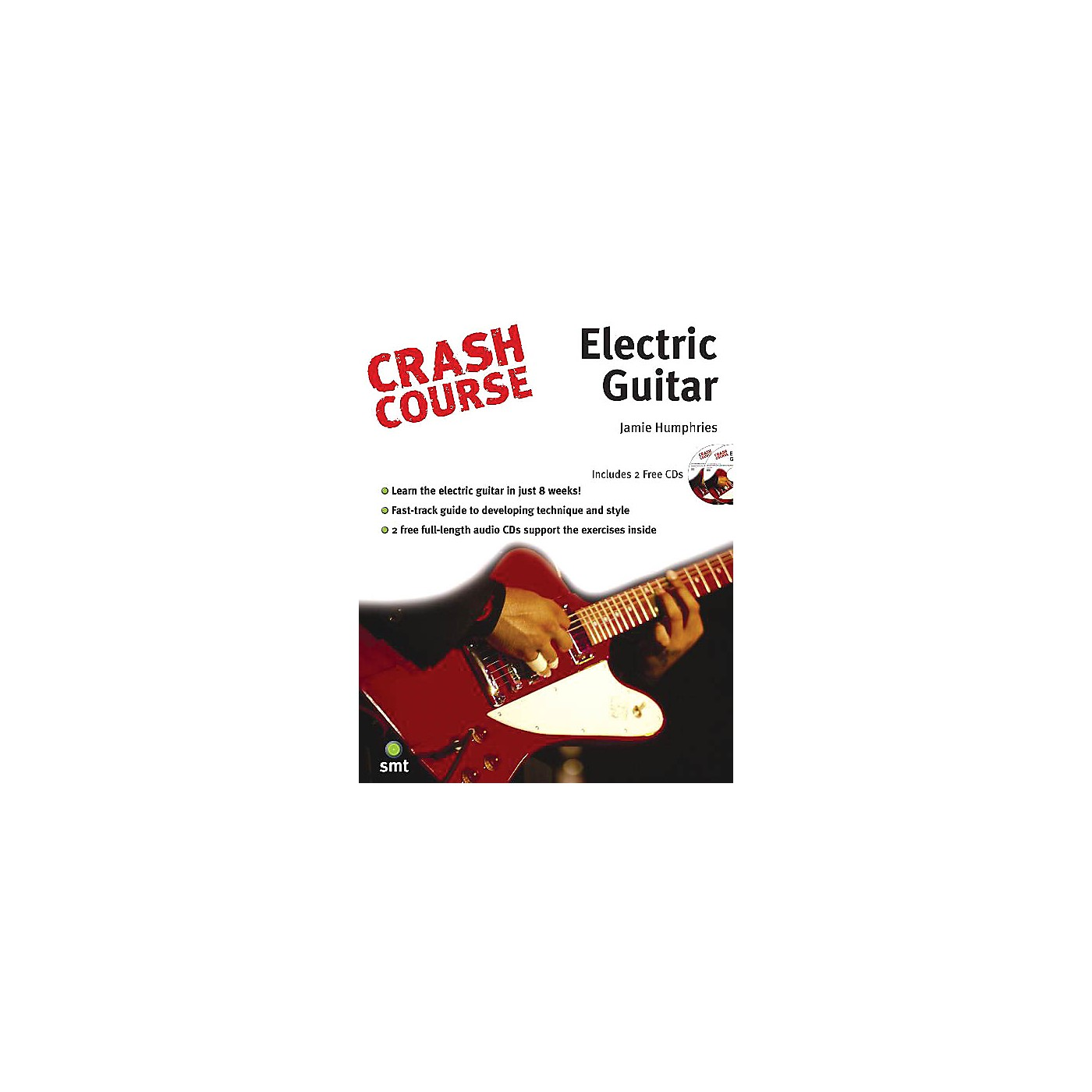 Music Sales Crash Course - Electric Guitar Music Sales America Series Softcover with CD Written by Jamie Humphries thumbnail