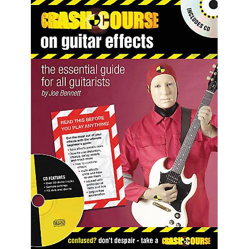 Artemis Music Crash Course on Guitar Effects (Book/CD)-thumbnail