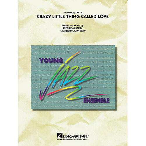 Hal Leonard Crazy Little Thing Called Love Jazz Band Level 3 by Queen Arranged by John Berry thumbnail