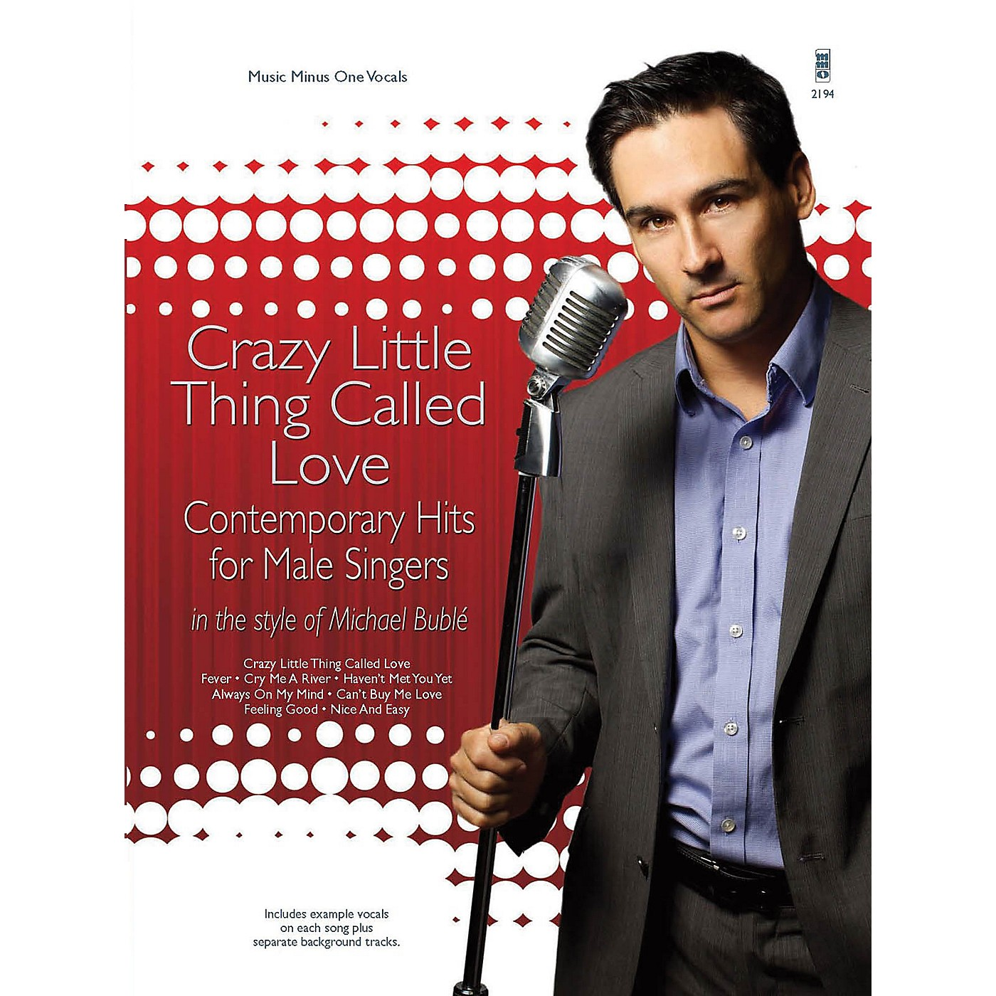 Music Minus One Crazy Little Thing Called Love Music Minus One Series Softcover with CD thumbnail