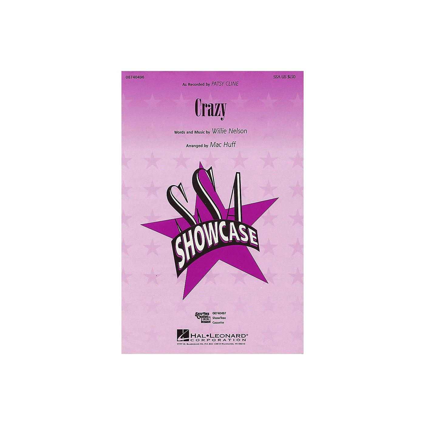Hal Leonard Crazy SSA by Patsy Cline arranged by Mac Huff thumbnail