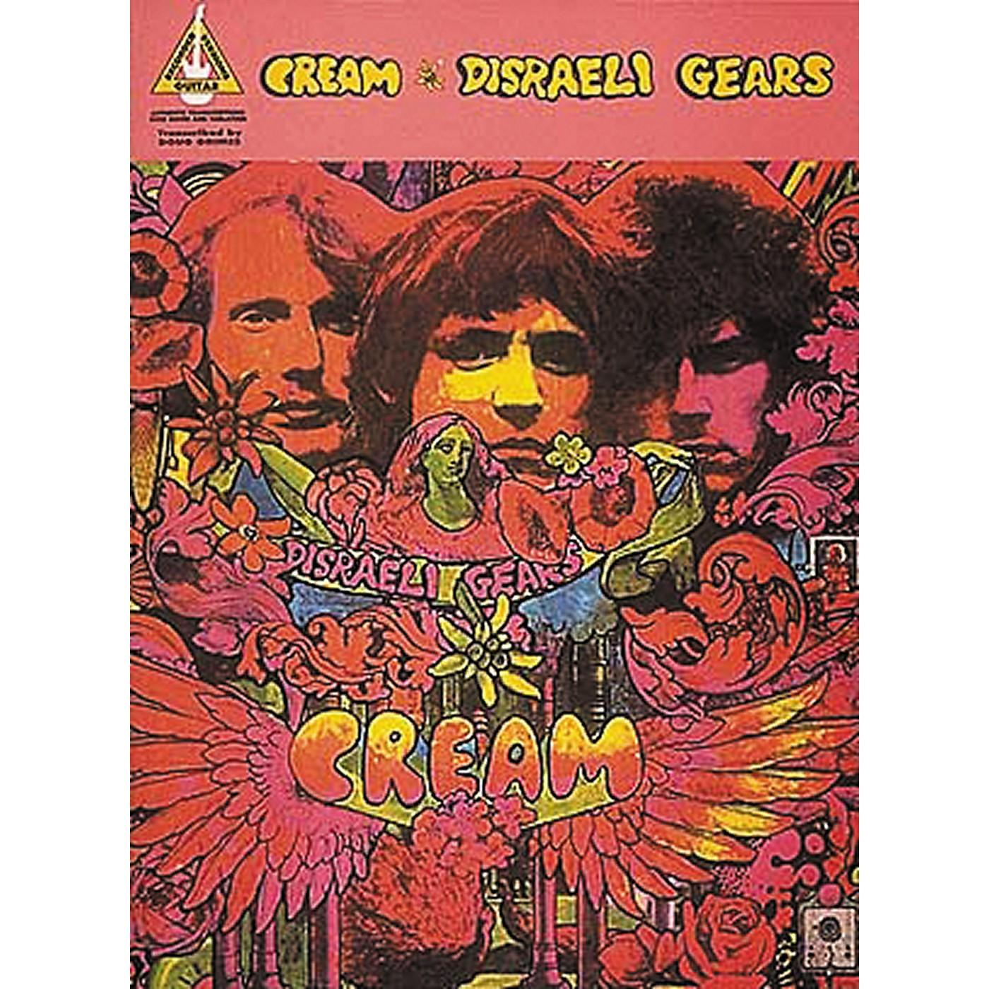 Hal Leonard Cream Disraeli Gears Guitar Tab Songbook thumbnail