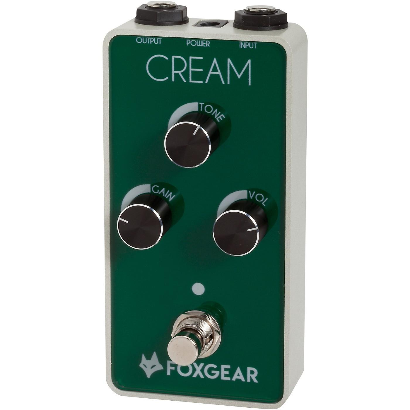 FoxGear Cream Screaming Overdrive Effects Pedal thumbnail