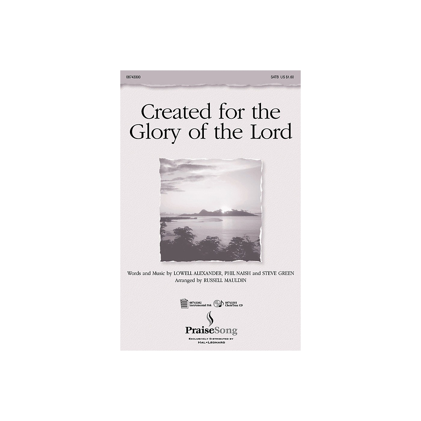 PraiseSong Created for the Glory of the Lord (Instrumental Pak) IPAKO Arranged by Russell Mauldin thumbnail