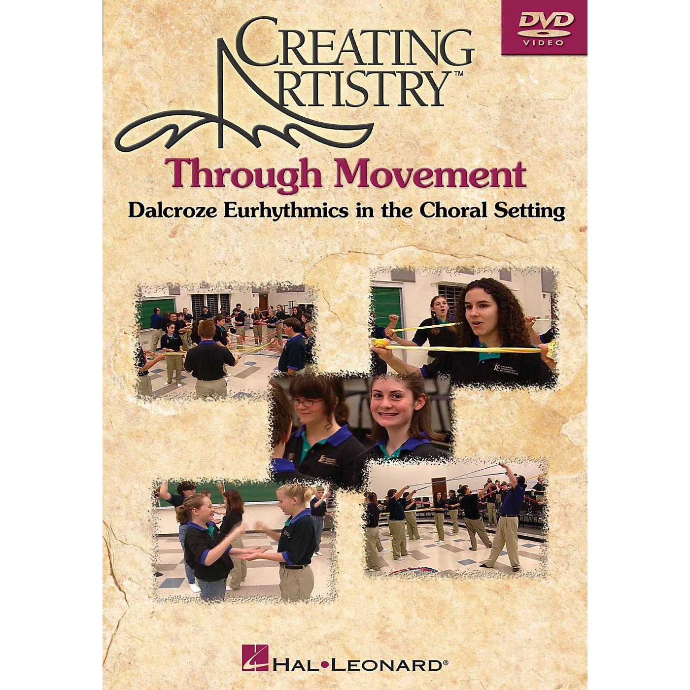 Hal Leonard Creating Artistry Through Movement DVD thumbnail