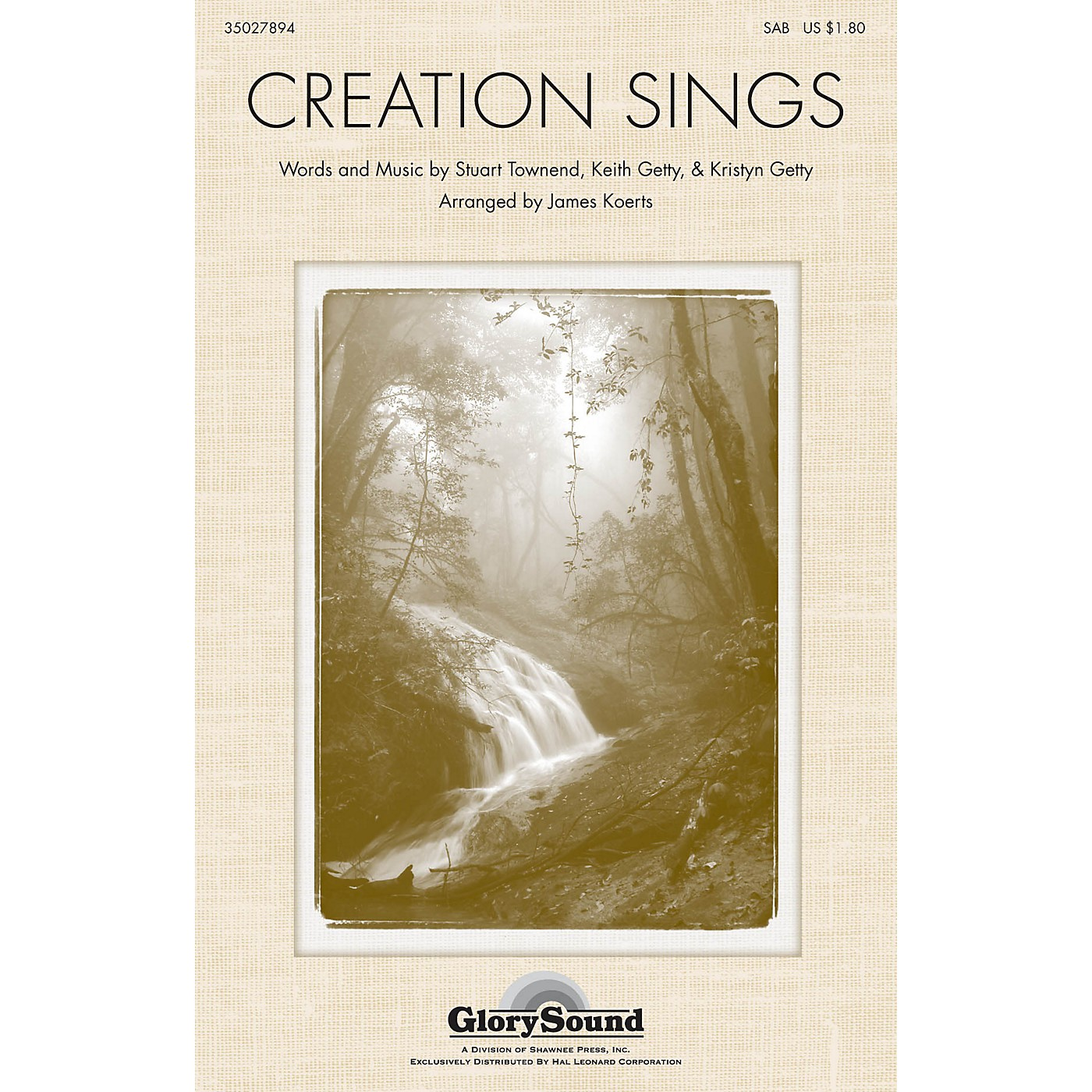 Shawnee Press Creation Sings the Father's Song SATB arranged by James Koerts thumbnail