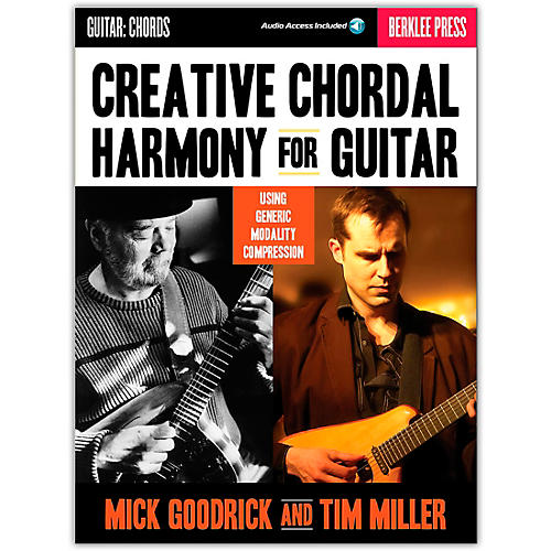 Berklee Press Creative Chordal Harmony For Guitar - Berklee Press Book/Online Audio thumbnail