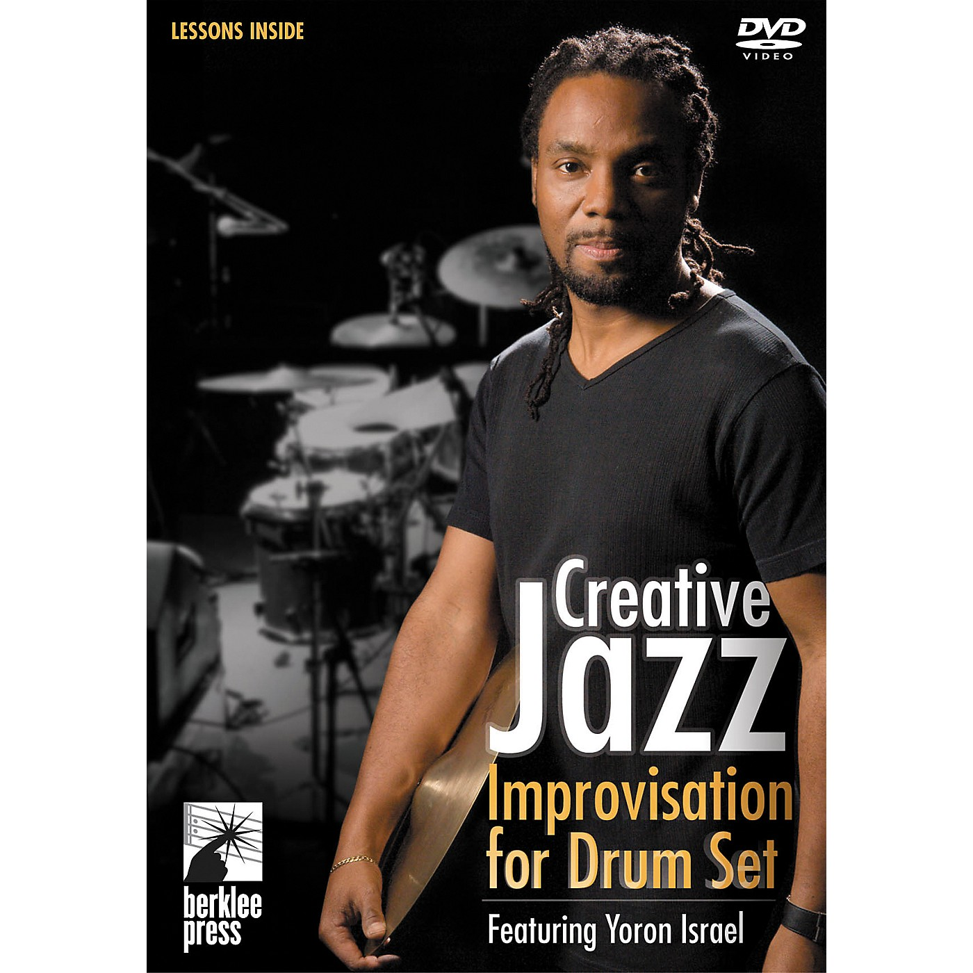 Berklee Press Creative Jazz Improvisation for Drum Set DVD with Yoron Israel thumbnail