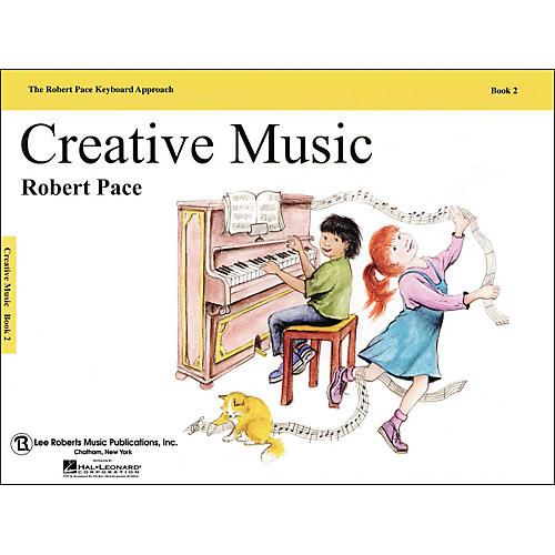 Hal Leonard Creative Music Book 2 Revised, Piano, The Robert Pace Keyboard Approach thumbnail