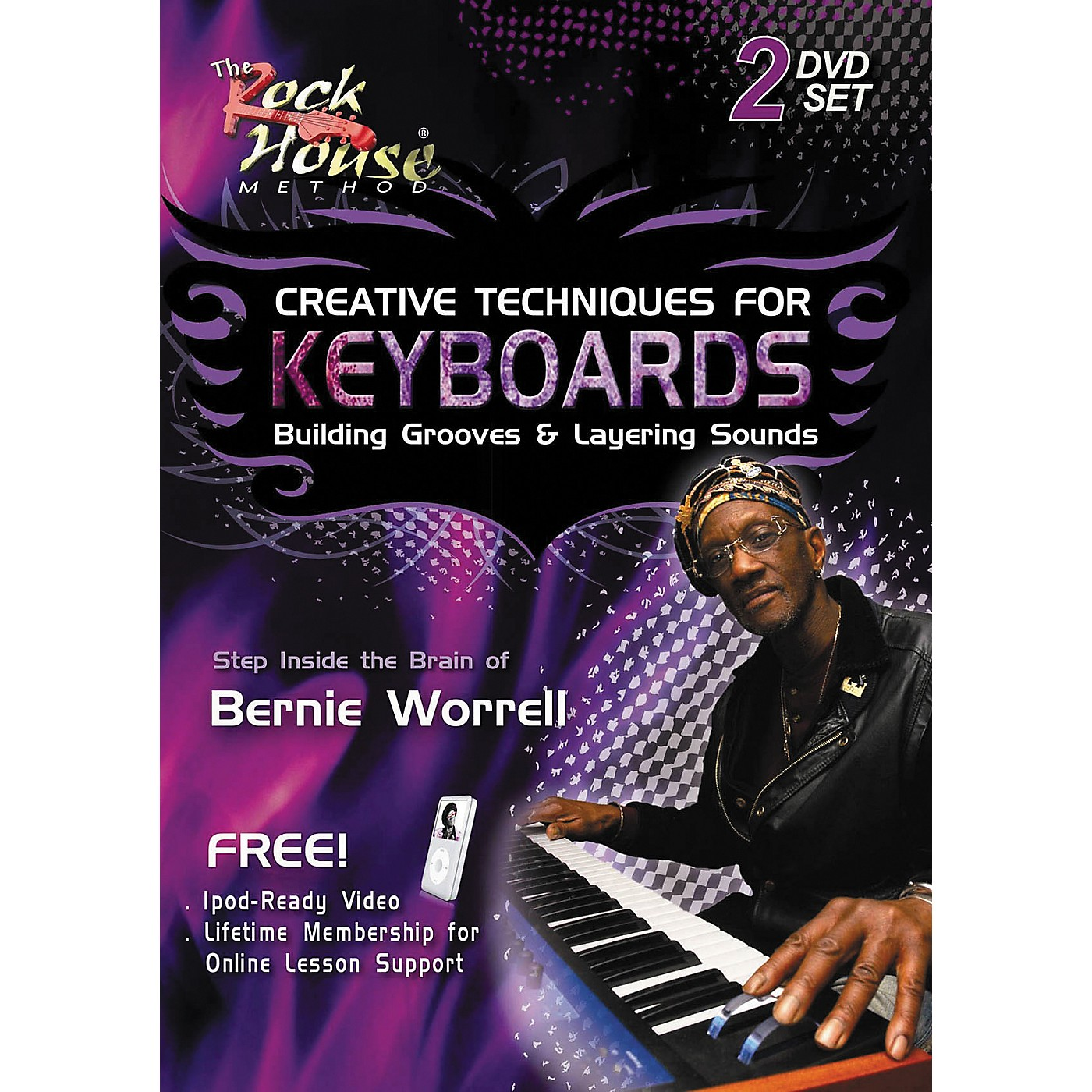 Hal Leonard Creative Techniques for Keyboard Building Grooves & Layering Sounds (2-DVD Set) thumbnail