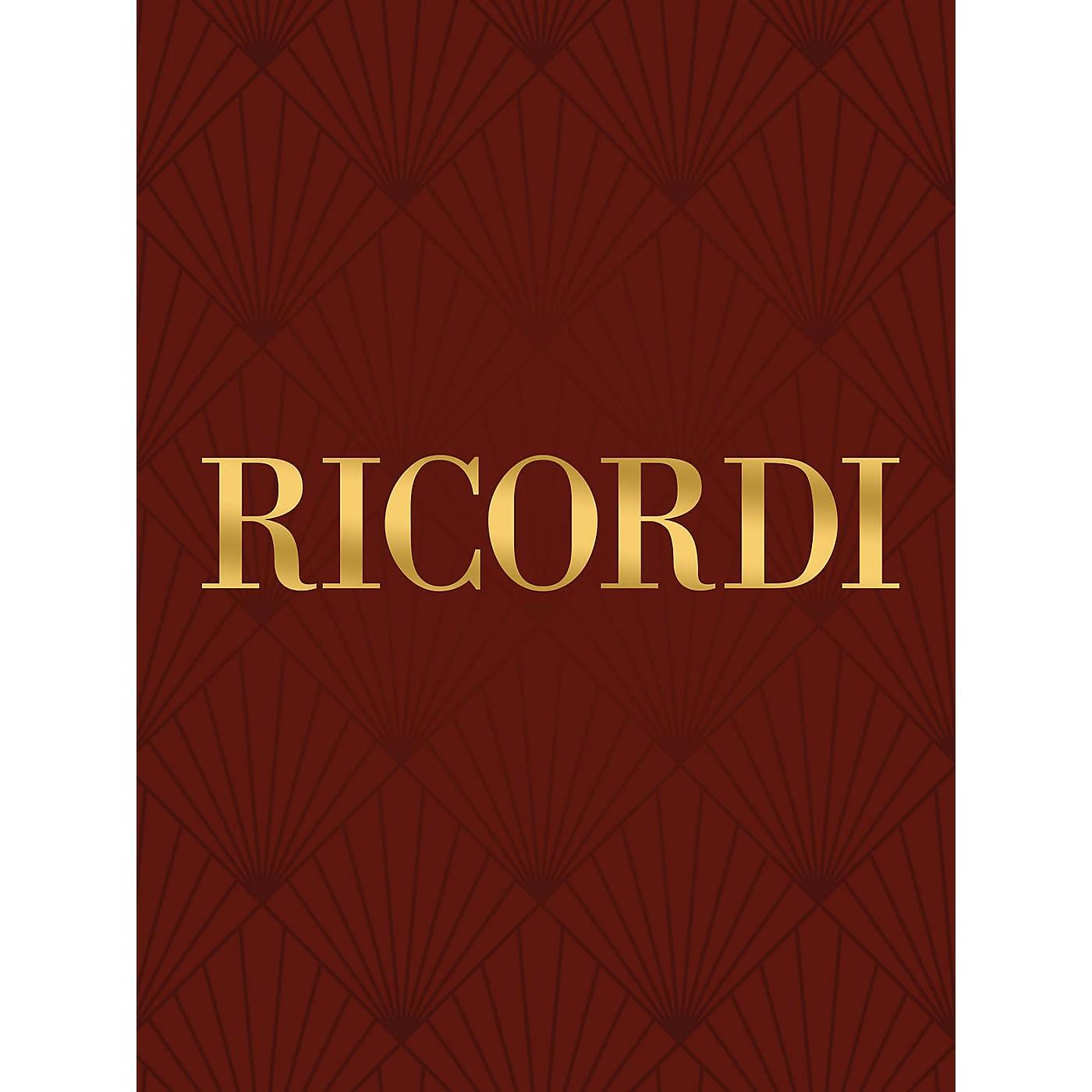 Ricordi Credo RV591 (Score) SATB Composed by Antonio Vivaldi Edited by Gian Francesco Malipiero thumbnail