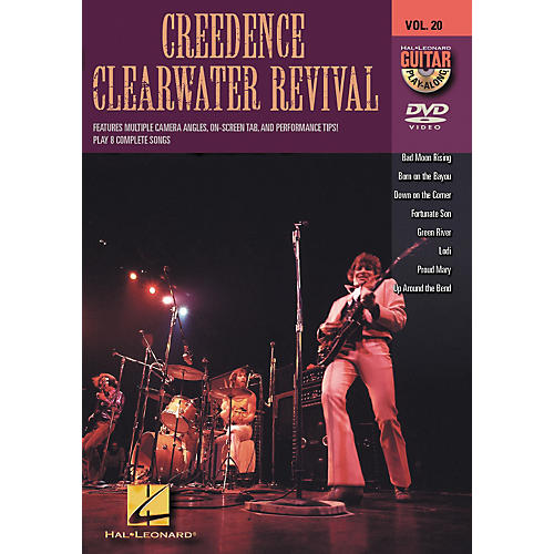 Hal Leonard Creedence Clearwater Revival - Guitar Play-Along DVD, Volume 20 thumbnail