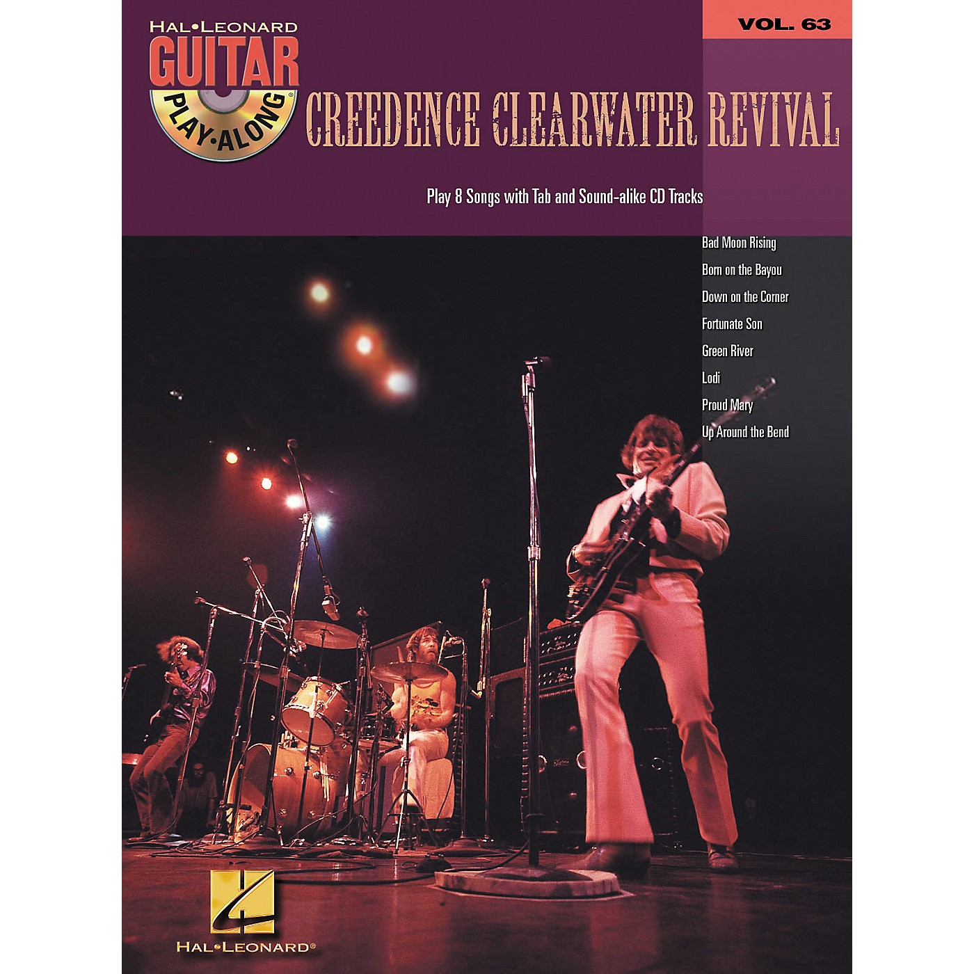 Hal Leonard Creedence Clearwater Revival - Guitar Play-Along Volume 63 Book and Online Audio thumbnail