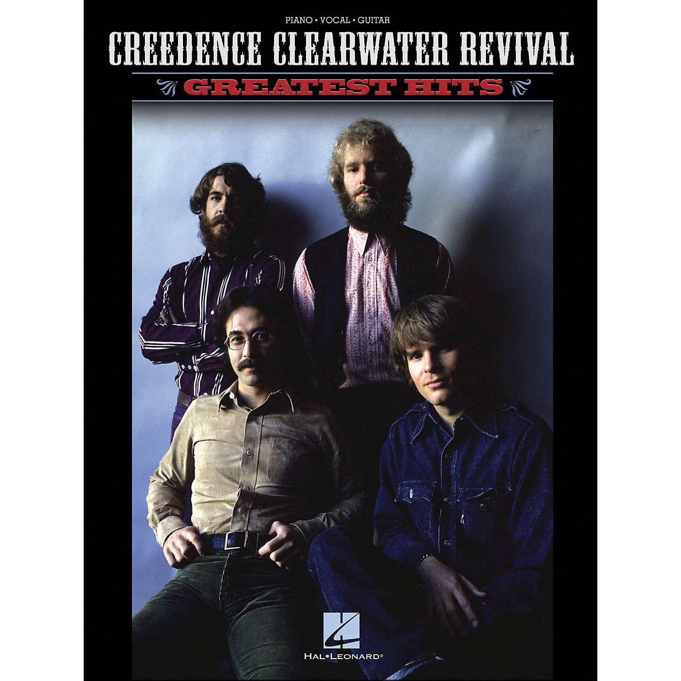 Hal Leonard Creedence Clearwater Revival Greatest Hits arranged for piano, vocal, and guitar (P/V/G) thumbnail