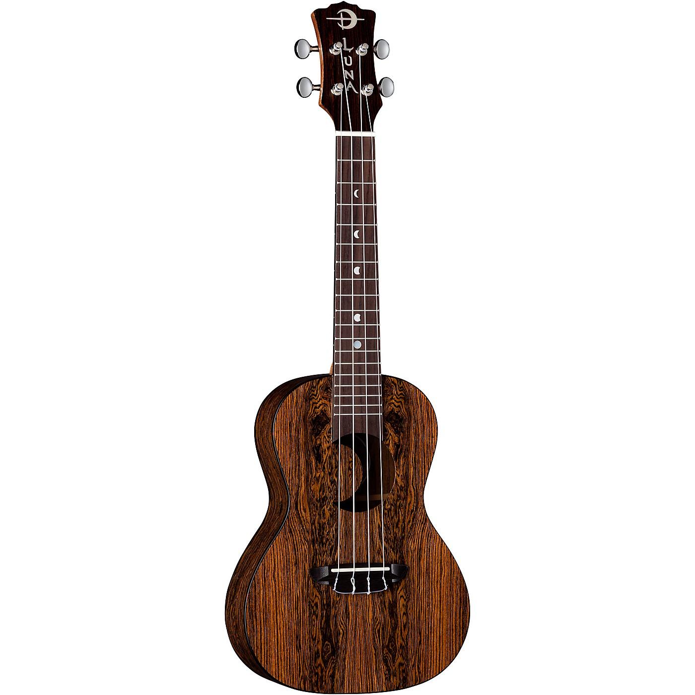 Luna Guitars Crescent Caidie Concert Ukulele thumbnail