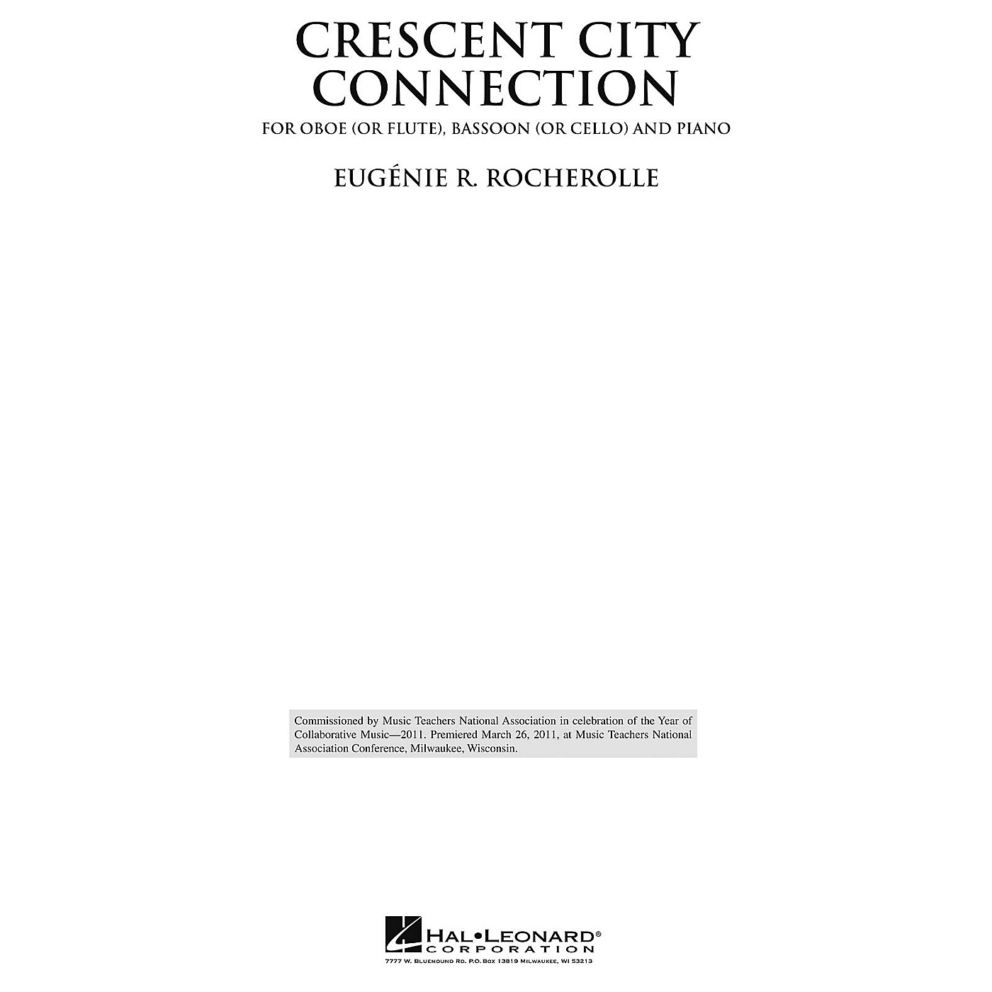 Hal Leonard Crescent City Connection Misc Series thumbnail