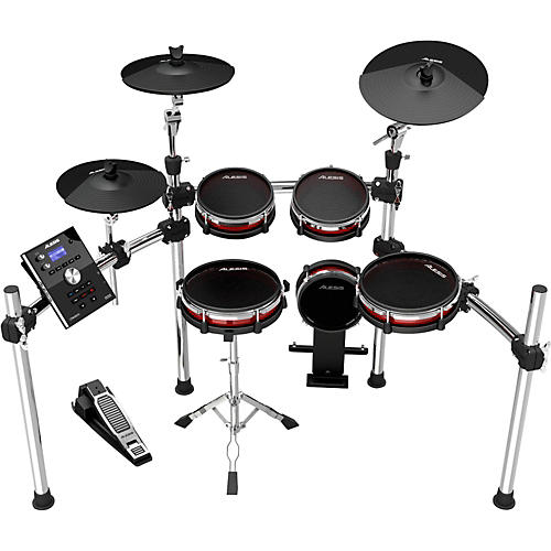crimson electronic 5 piece drum kit with mesh heads wwbw. Black Bedroom Furniture Sets. Home Design Ideas