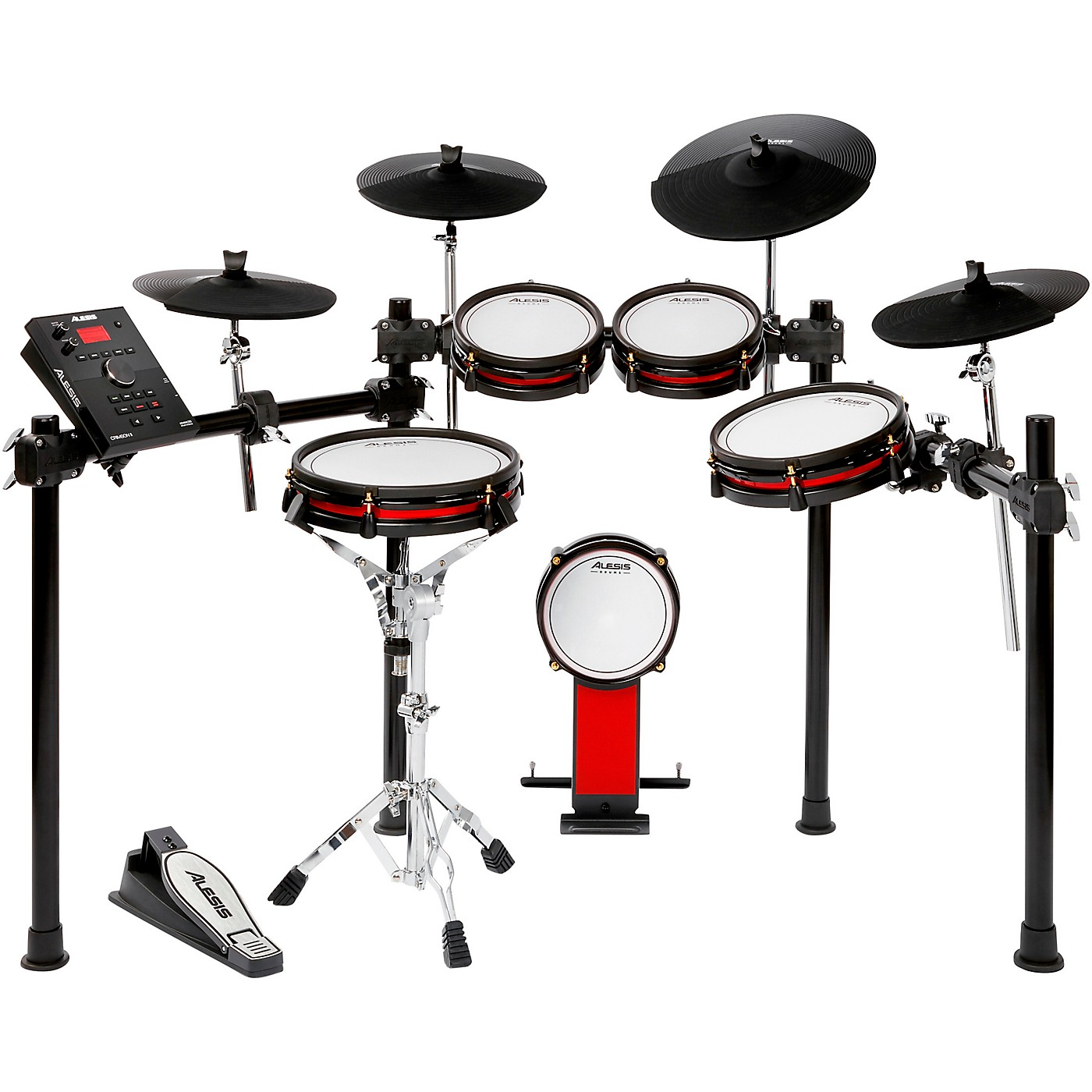 Alesis Crimson II SE 9-Piece Electronic Drum Kit With Mesh Heads thumbnail
