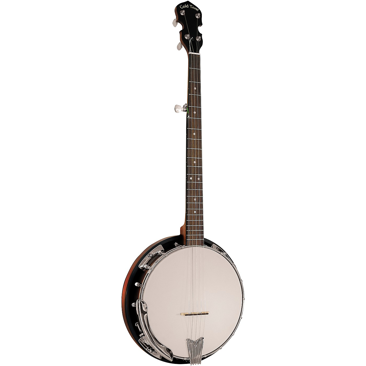 Gold Tone Cripple Creek CC-50RP/L Left-Handed Resonator Banjo With Planetary Tuners and Gig Bag thumbnail