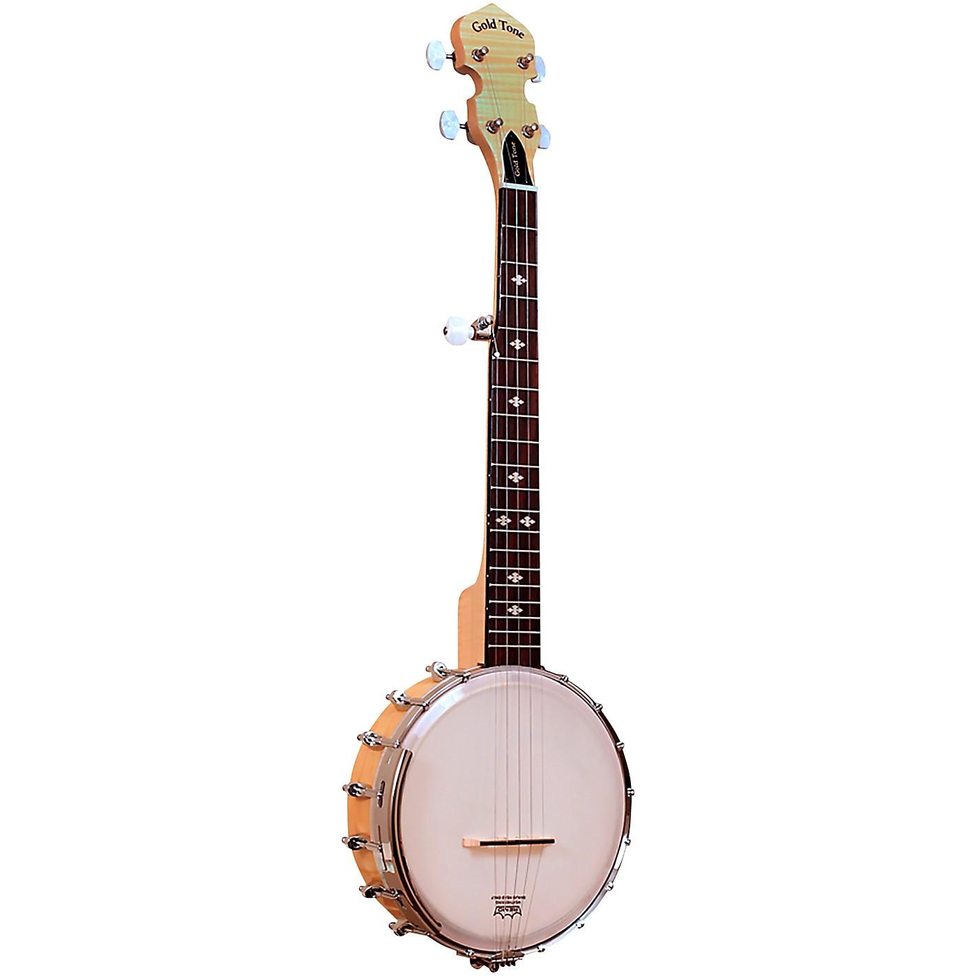 Gold Tone Cripple Creek Left-Handed Mini Banjo thumbnail
