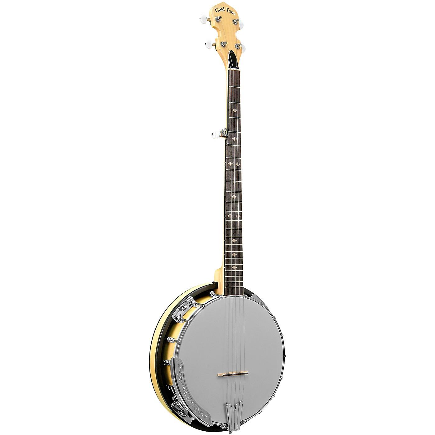 Gold Tone Cripple Creek Left-Handed Resonator Banjo thumbnail