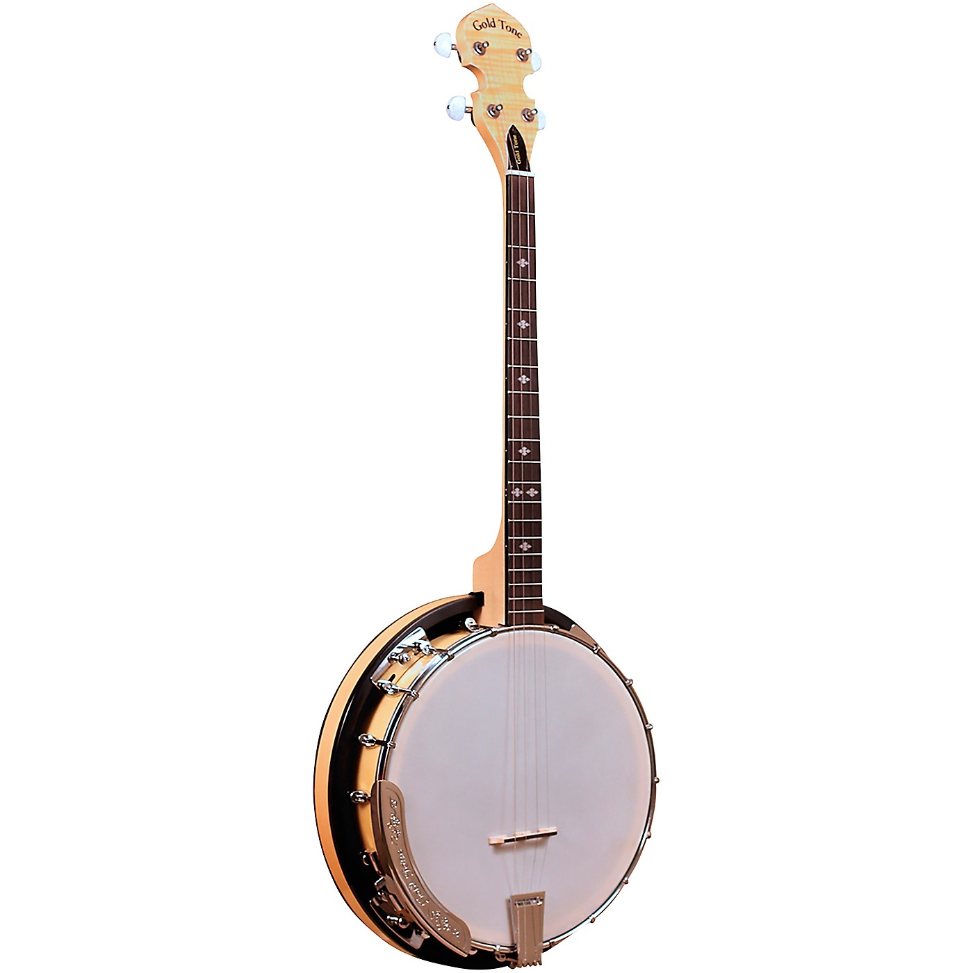 Gold Tone Cripple Creek Left-Handed Tenor Banjo thumbnail