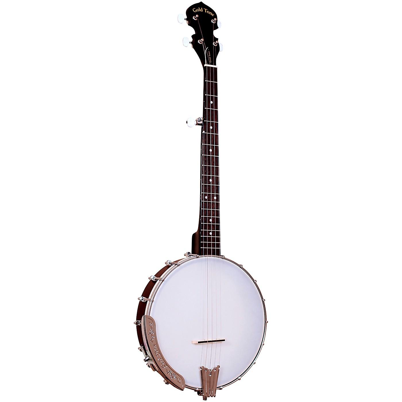 Gold Tone Cripple Creek Left-Handed Traveler Banjo thumbnail
