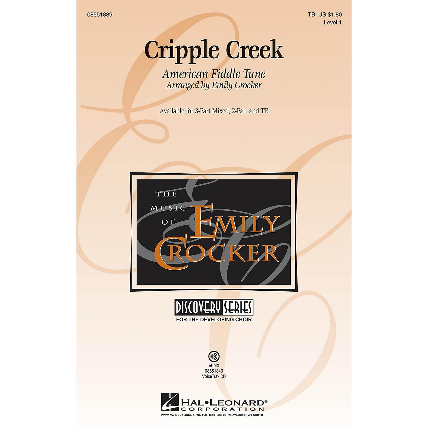 Hal Leonard Cripple Creek VoiceTrax CD Arranged by Emily Crocker thumbnail
