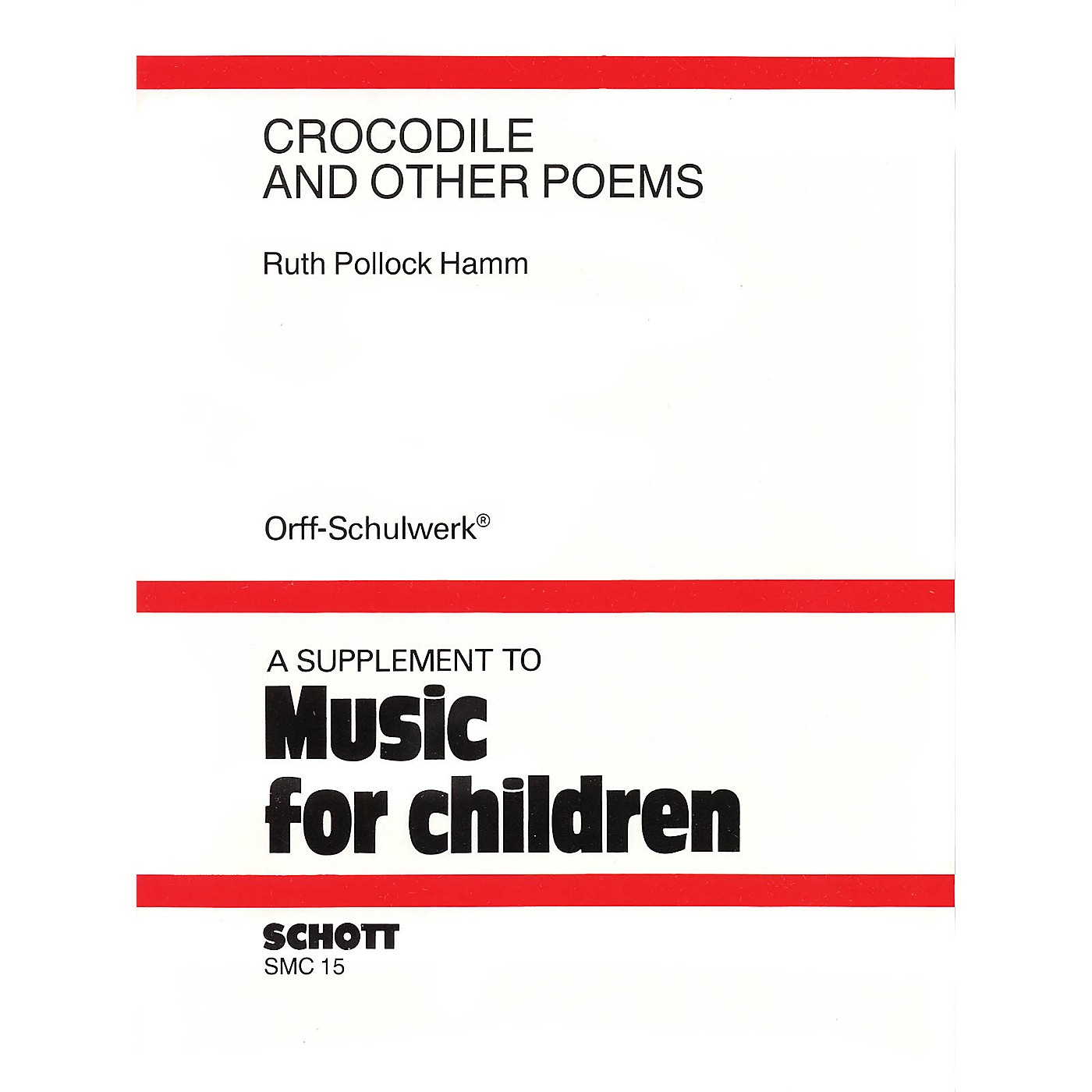 Schott Crocodile and Other Poems (A Choral Speech Collection) thumbnail