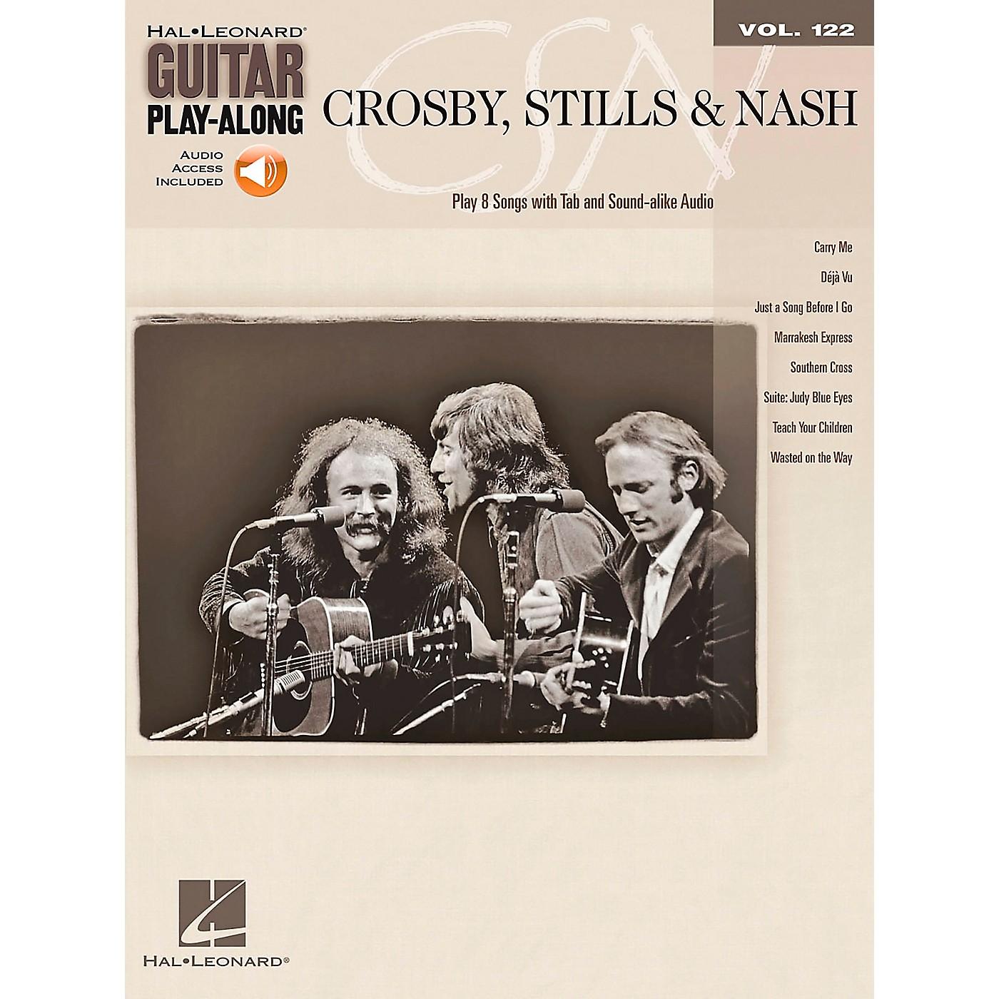Hal Leonard Crosby Stills & Nash - Guitar Play-Along Volume 122 Book/CD thumbnail