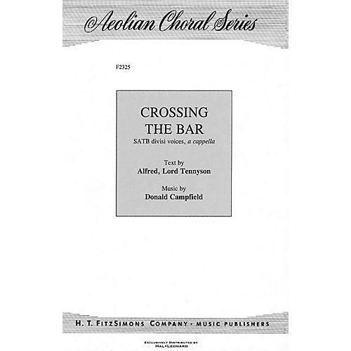 H.T. FitzSimons Company Crossing the Bar SATB composed by Donald Campfield thumbnail
