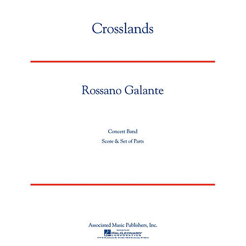 G. Schirmer Crosslands Concert Band Level 4 Composed by Rossano Galante thumbnail