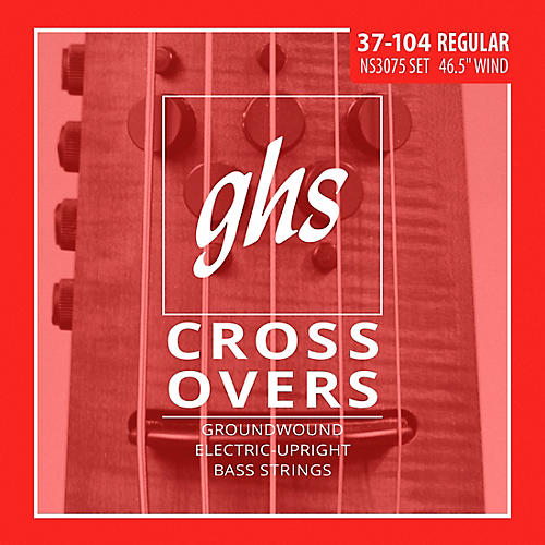 GHS Crossovers NS Design Upright Electric Bass Strings (47-105) thumbnail