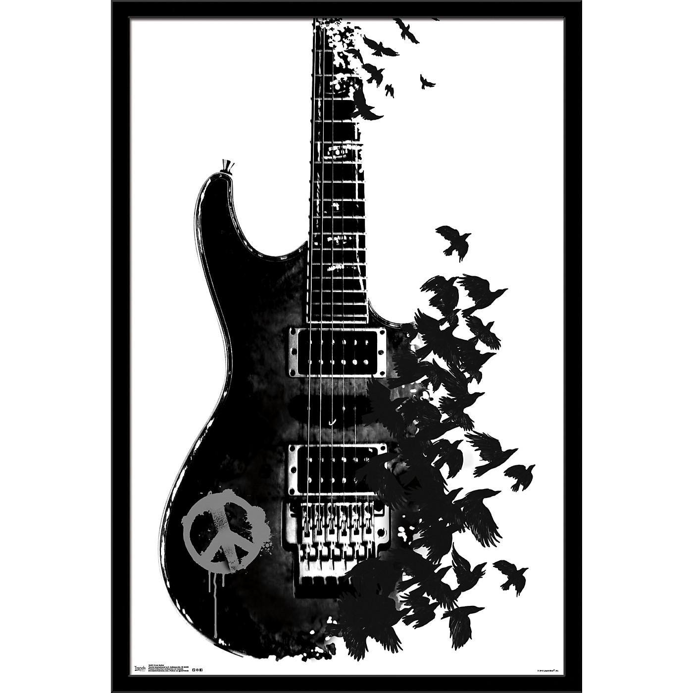 Trends International Crow Guitar Poster thumbnail