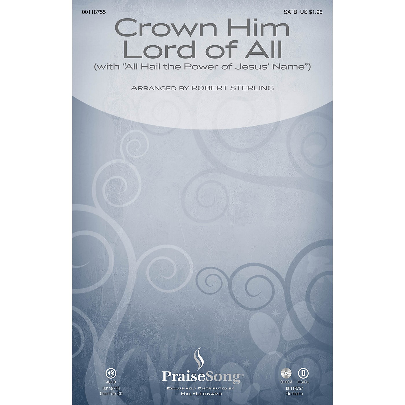 PraiseSong Crown Him Lord of All (with All Hail the Power of Jesus' Name) ORCHESTRA ACCOMPANIMENT by Robert Sterling thumbnail