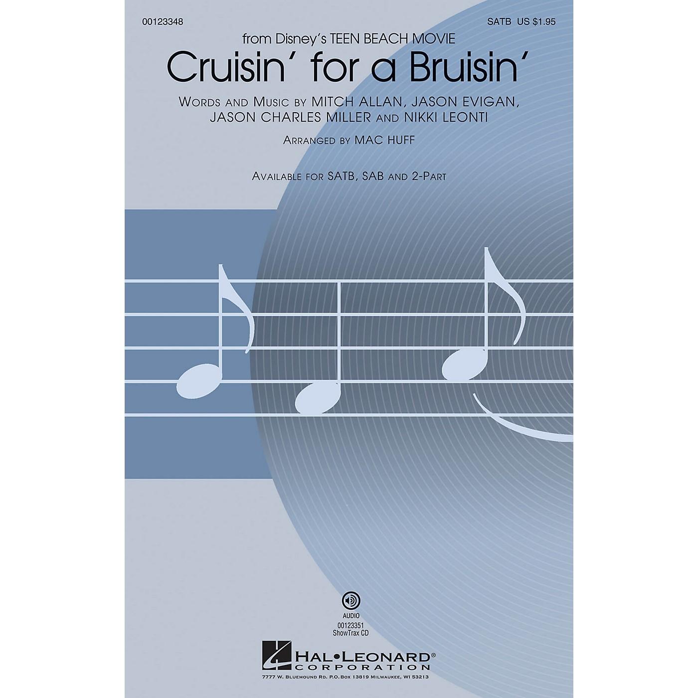 Hal Leonard Cruisin' for a Bruisin' (from Disney Teen Beach Movie) ShowTrax CD Arranged by Mac Huff thumbnail