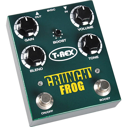 T-Rex Engineering Crunchy Frog Classic Overdrive with Boost Guitar Effects Pedal-thumbnail