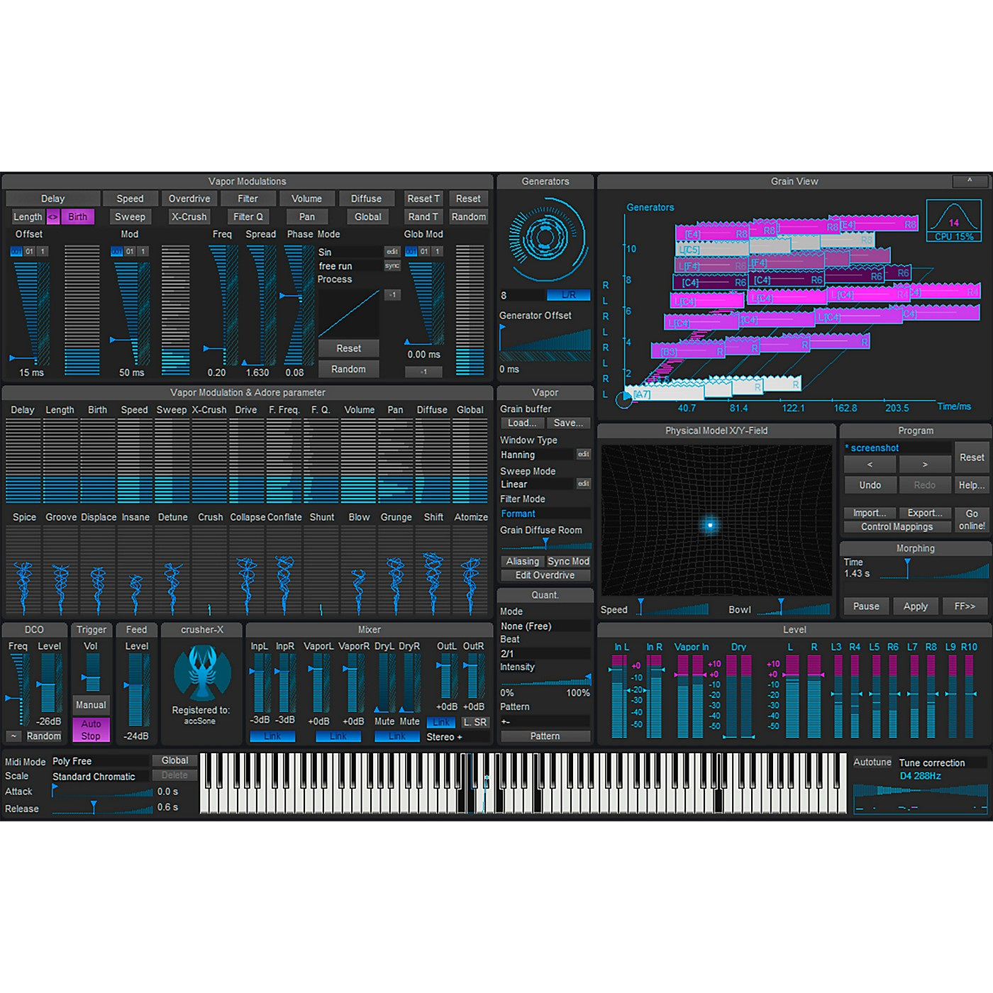 accSone Crusher-X 7 Synthesizer Software Download thumbnail