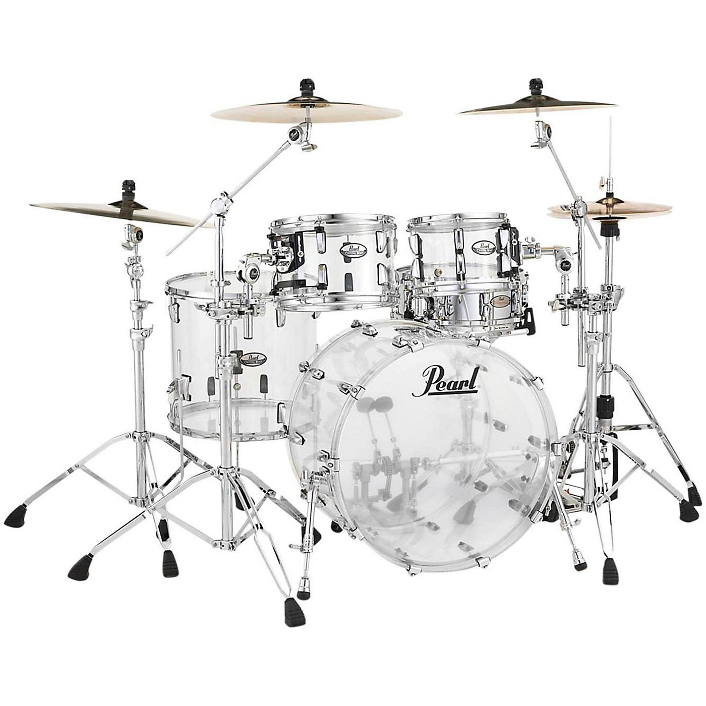 Pearl Crystal Beat 4-Piece New Fusion Shell Pack thumbnail