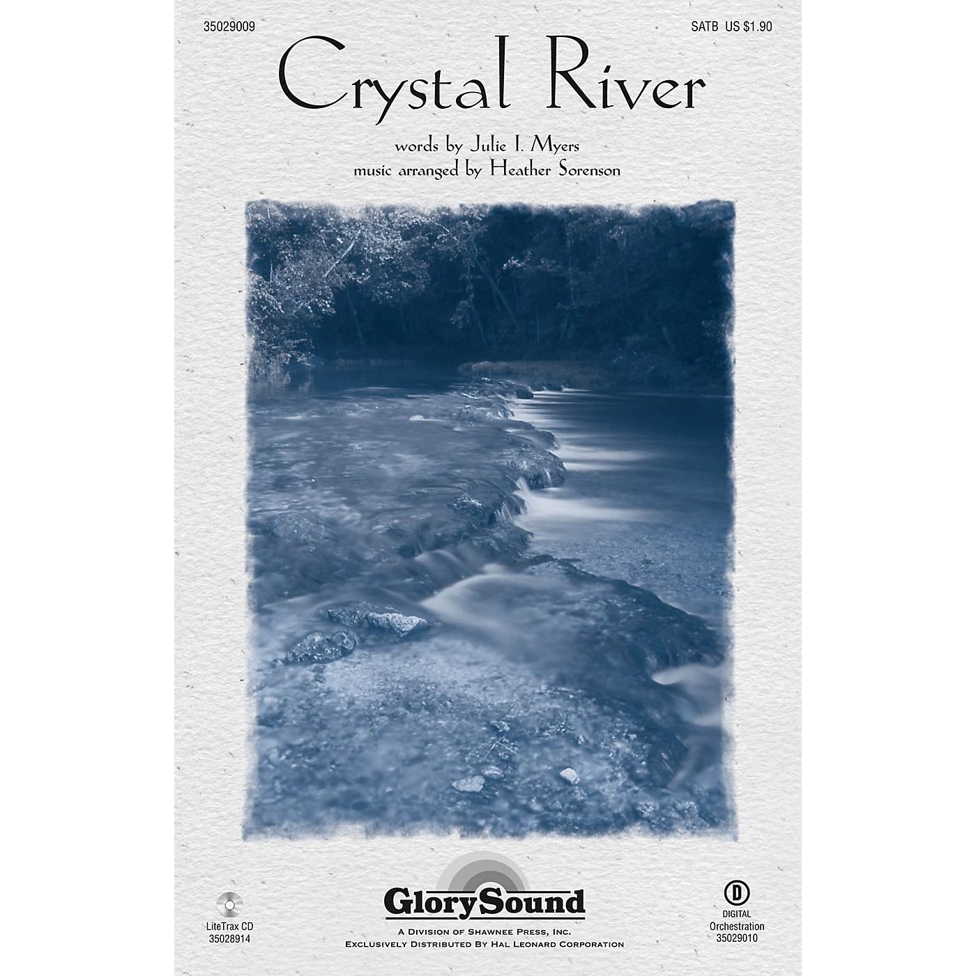 Shawnee Press Crystal River SATB arranged by Heather Sorenson thumbnail