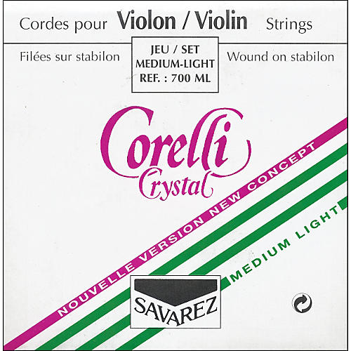 Corelli Crystal Violin Strings-thumbnail