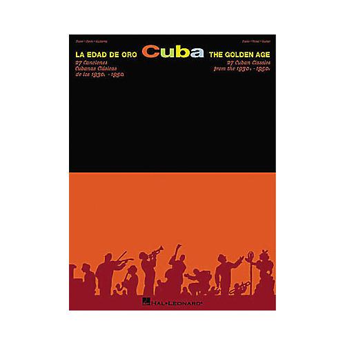 Hal Leonard Cuba La Edad De Oro - The Golden Age Piano, Vocal, Guitar Songbook thumbnail