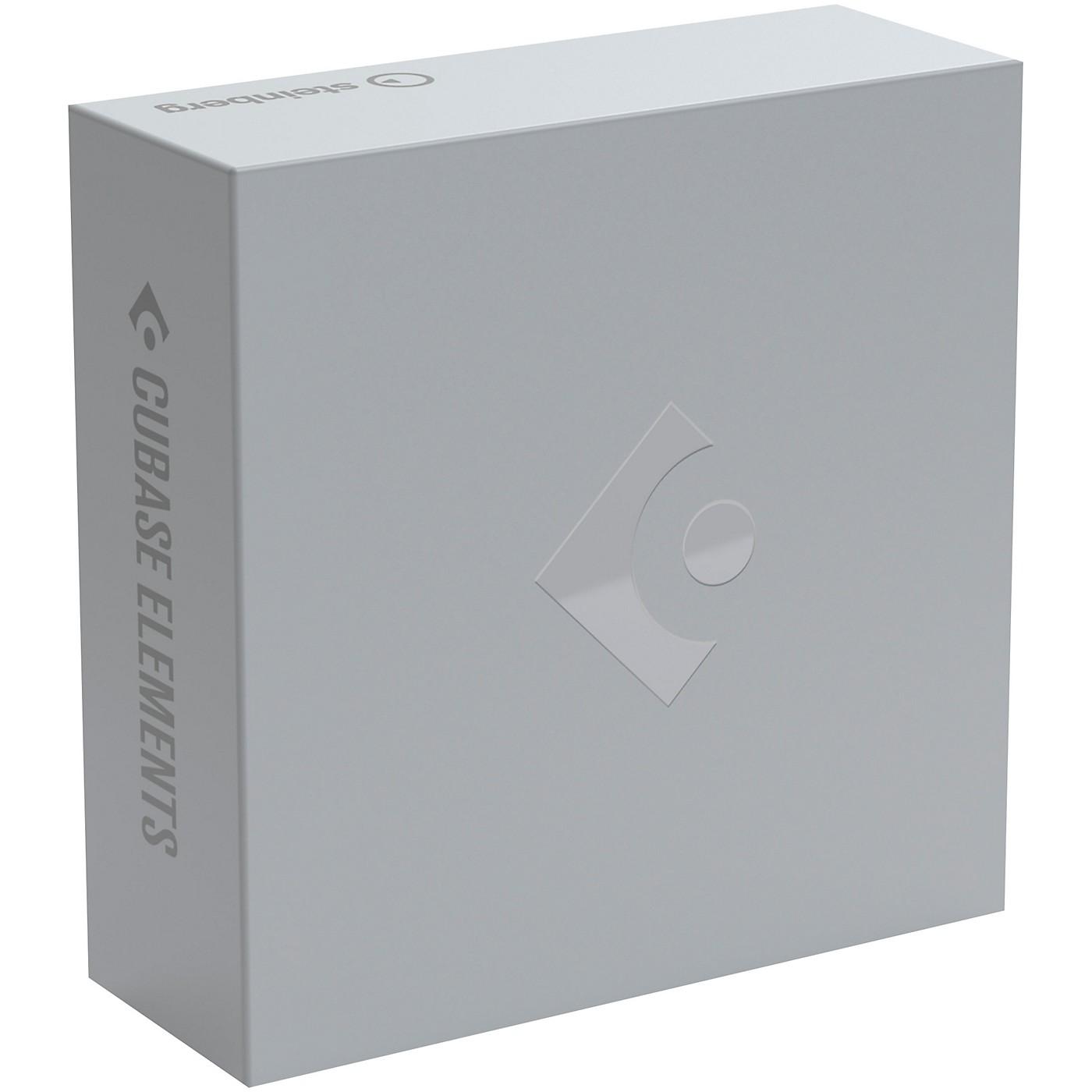 Steinberg Cubase Elements 11 Educational Version (Download) thumbnail