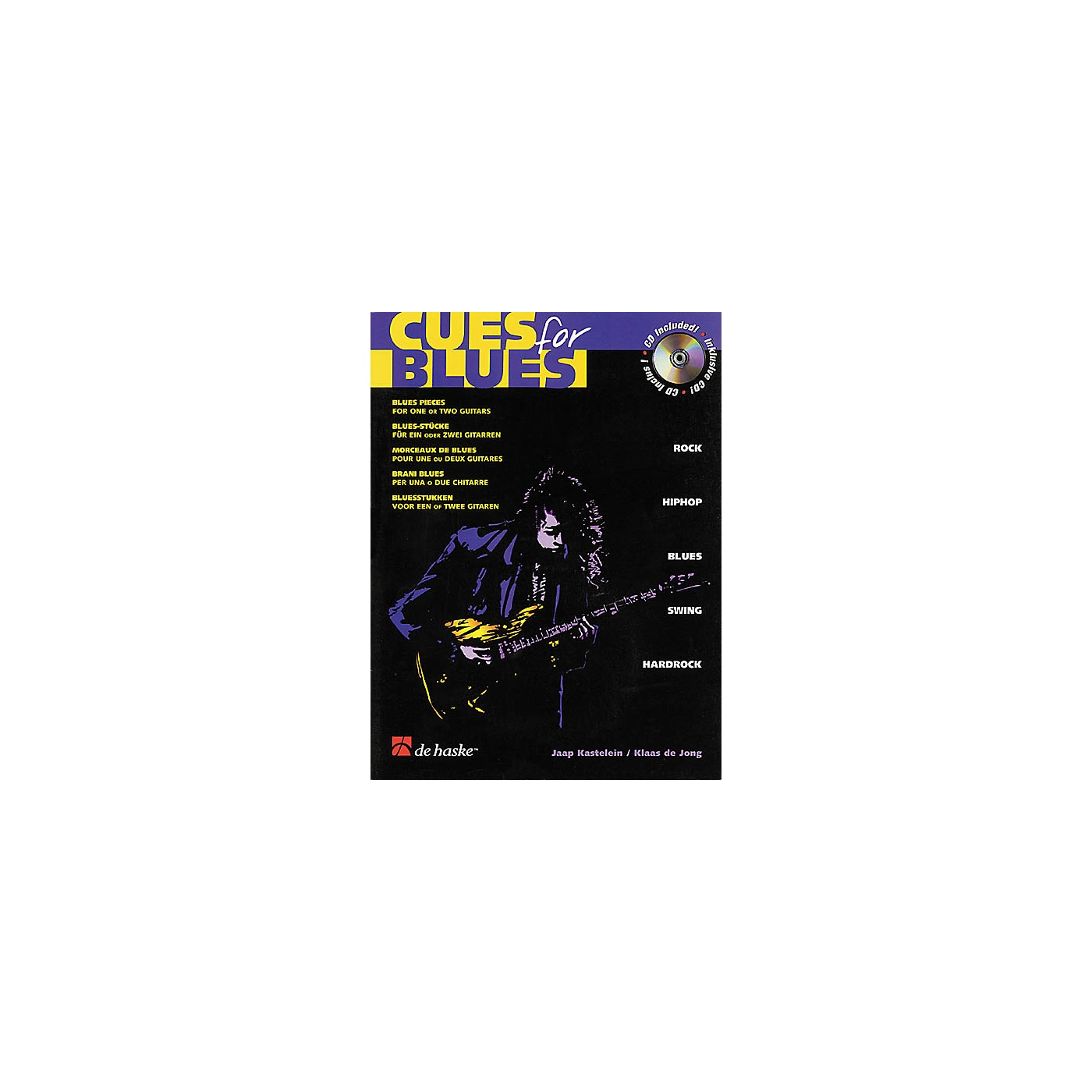 De Haske Music Cues for Blues Guitar Book with CD thumbnail