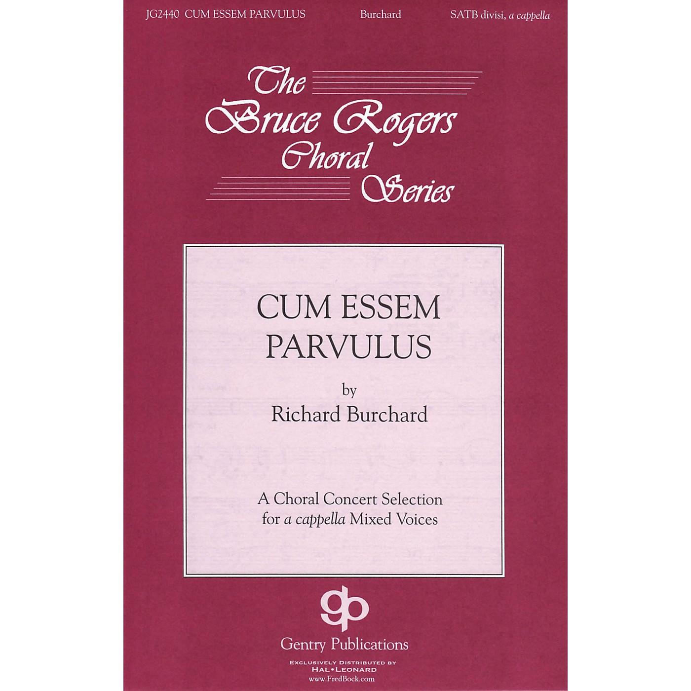 Gentry Publications Cum Essem Parvulus SSAATTBB A Cappella composed by Richard Burchard thumbnail