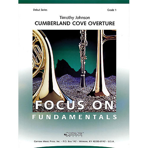 Curnow Music Cumberland Cove Overture (Grade 1 - Score Only) Concert Band Level 1 Composed by Timothy Johnson thumbnail